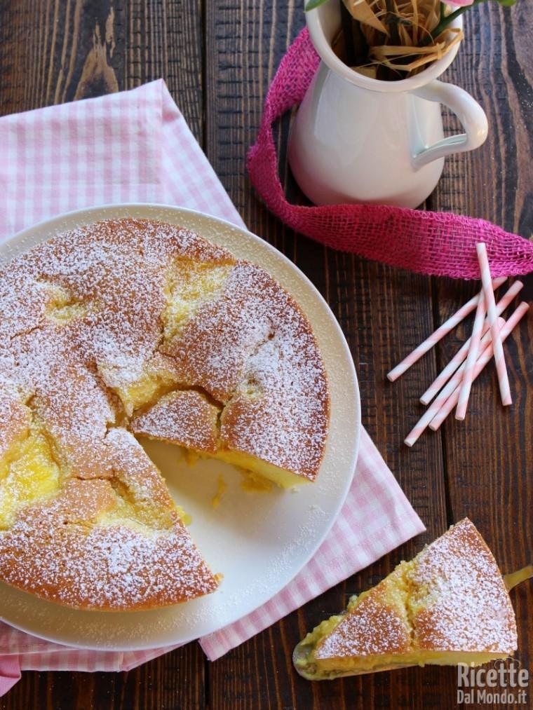 Come fare la Torta Nua alla crema pasticcera