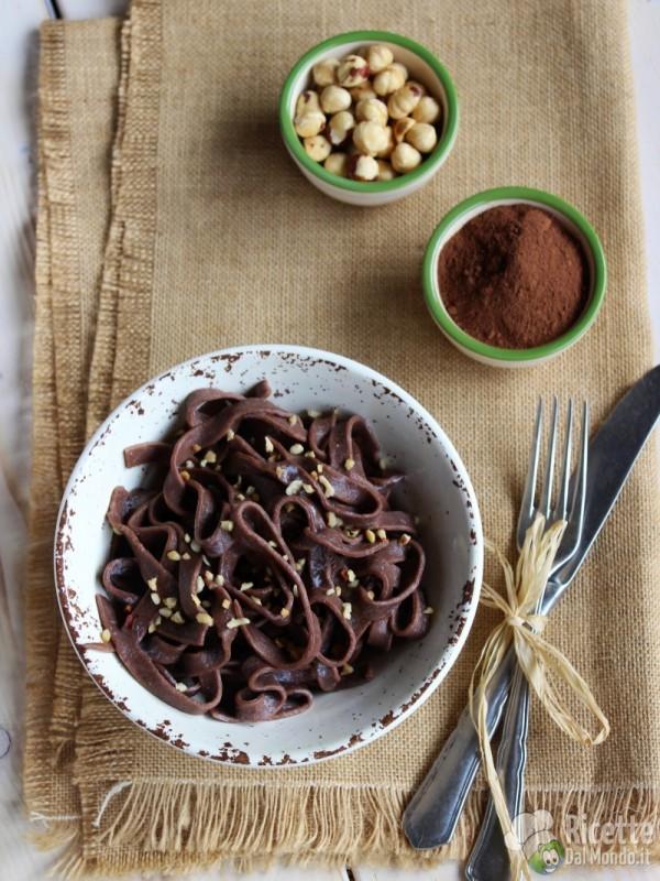 Come fare le Tagliatelle al cacao