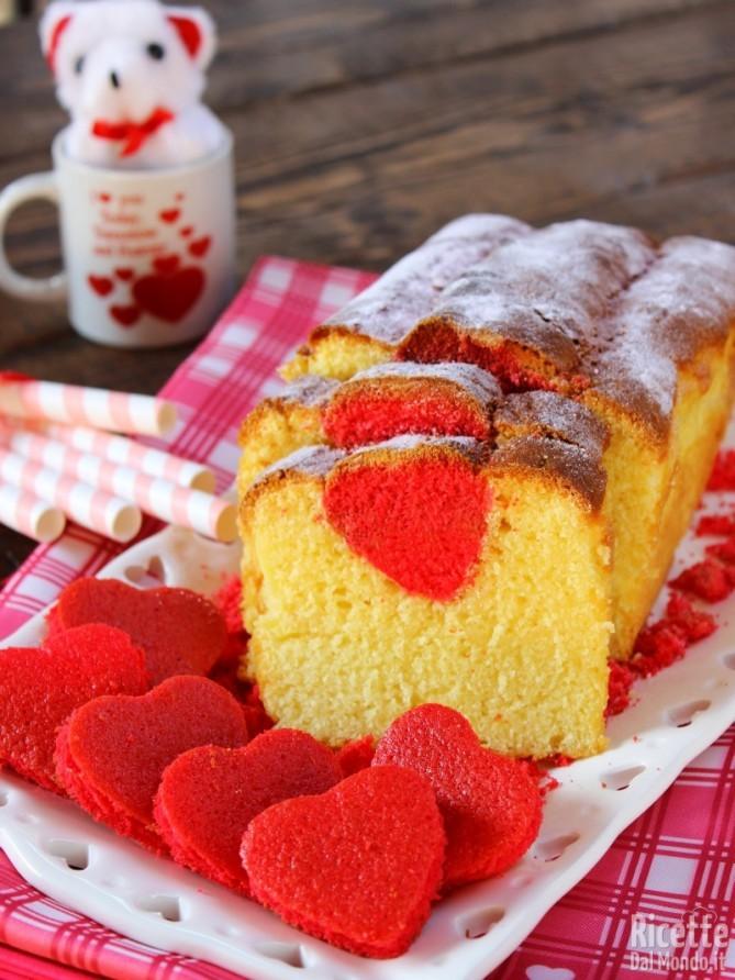 Come fare il Plumcake con cuore a sorpresa