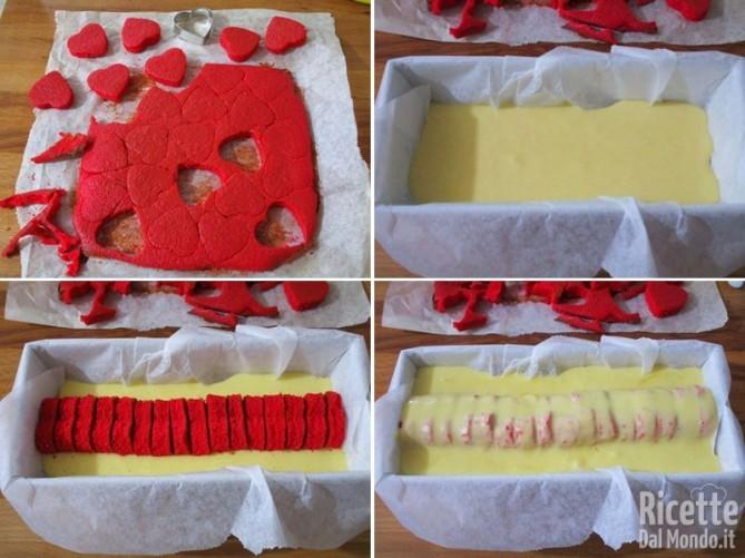 Plumcake con cuore a sorpresa 6