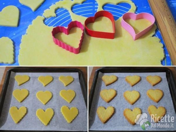 Biscotti di san Valentino a cuore decorati 4