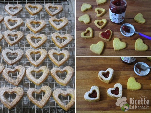 Biscotti di san valentino farciti 5