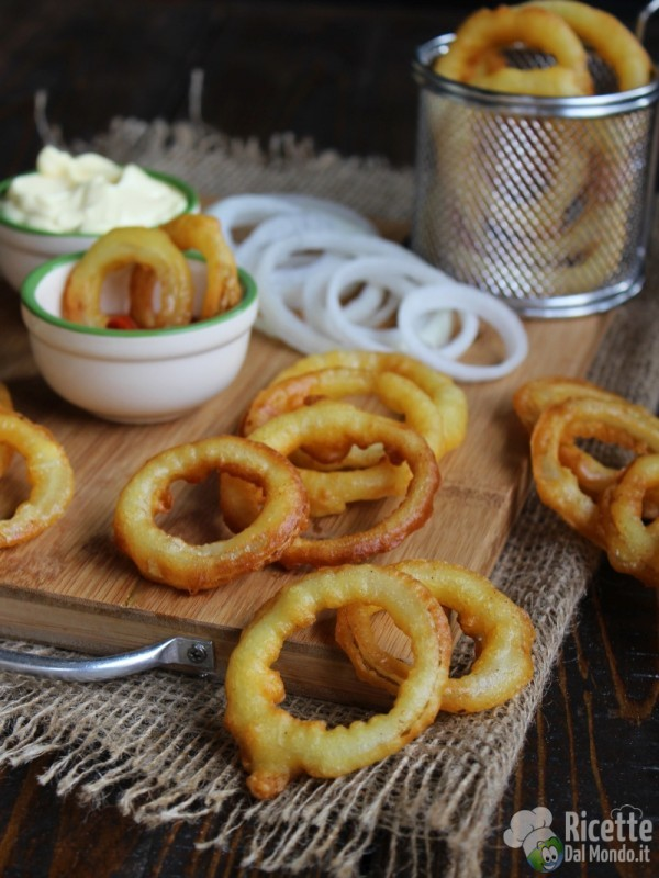Come fare gli Onion rings