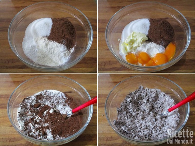 Bignole al cioccolato ripiene 6