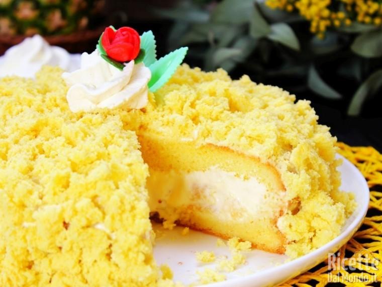 Ricetta Torta mimosa all\u0027ananas