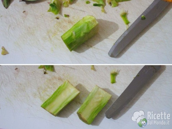 Come pulire i carciofi 4