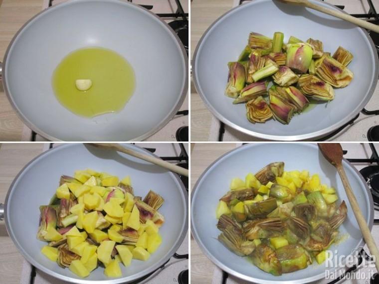 Carciofi e patate 6