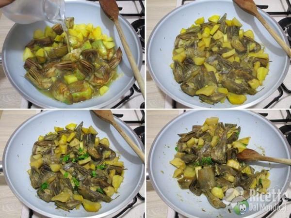 Carciofi e patate 8