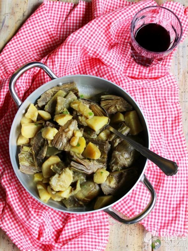 Carciofi e patate, ricetta semplice
