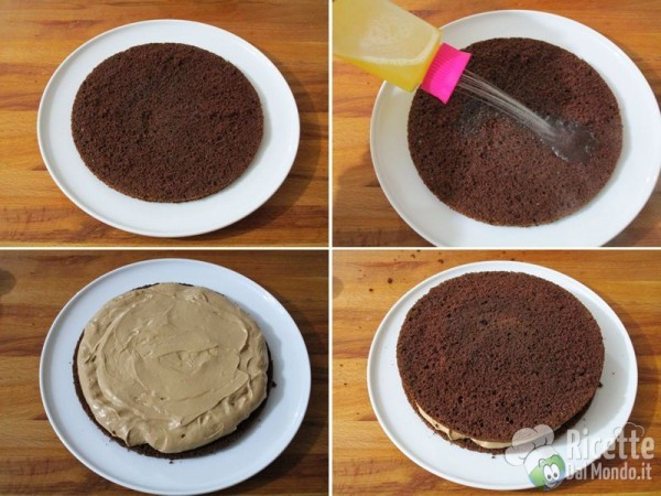 Torta mimosa al cioccolato 12