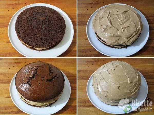 Torta mimosa al cioccolato 13