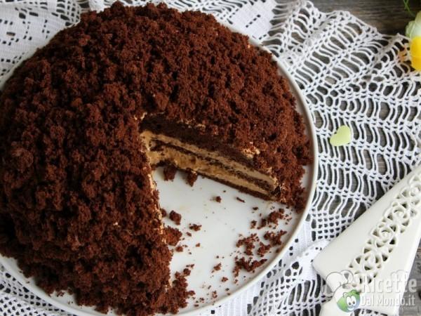 Deliziosa Torta mimosa al cioccolato