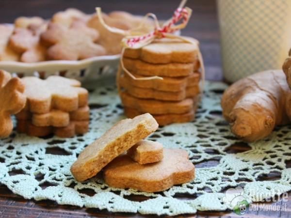 Biscotti allo zenzero e cannella