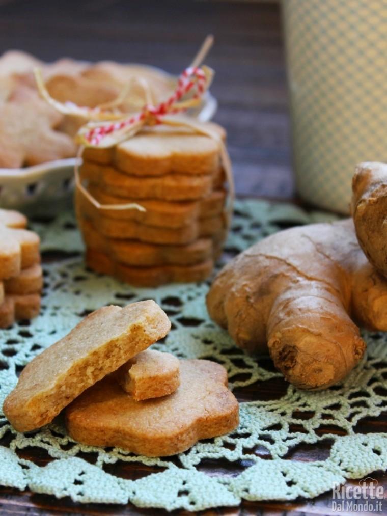 Come fare i biscotti allo zenzero