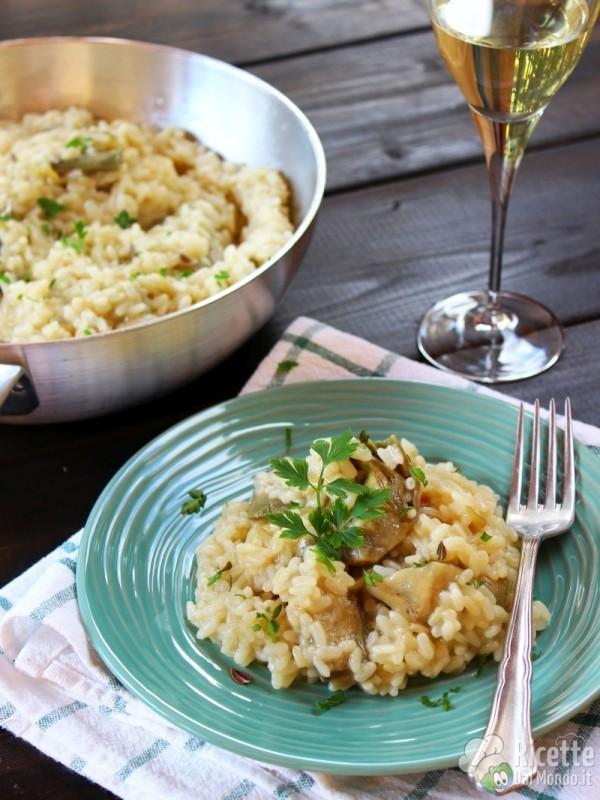 Ricette bimby risotto di carciofi