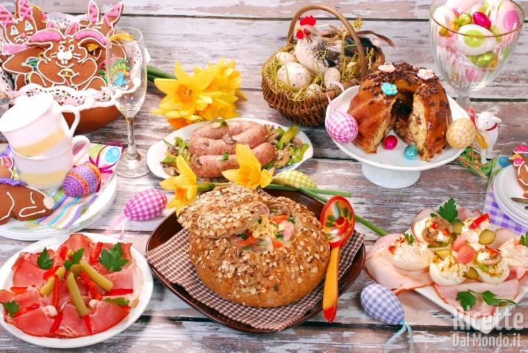 Ricetta Le ricette per il pranzo di Pasqua
