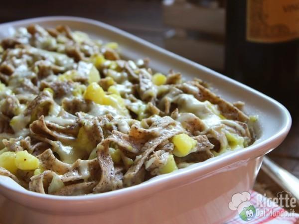 Pizzoccheri alla valtellinese, ricetta originale