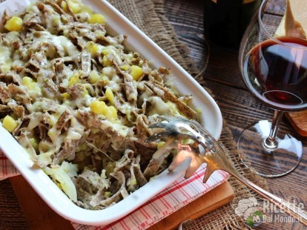 Pizzoccheri alla valtellinese con verza e patate
