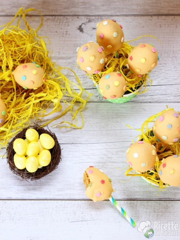 Come fare i cake pops di Pasqua