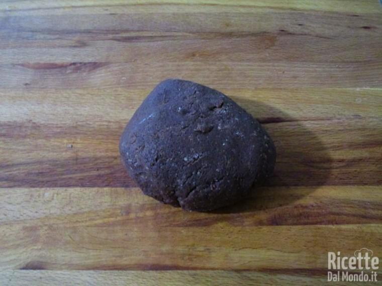 Pasta frolla al cacao 3