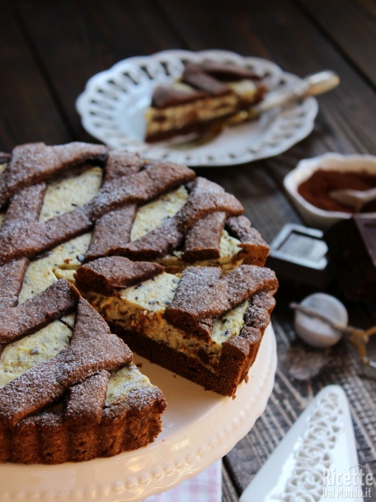 Come fare la crostata di ricotta e cioccolato