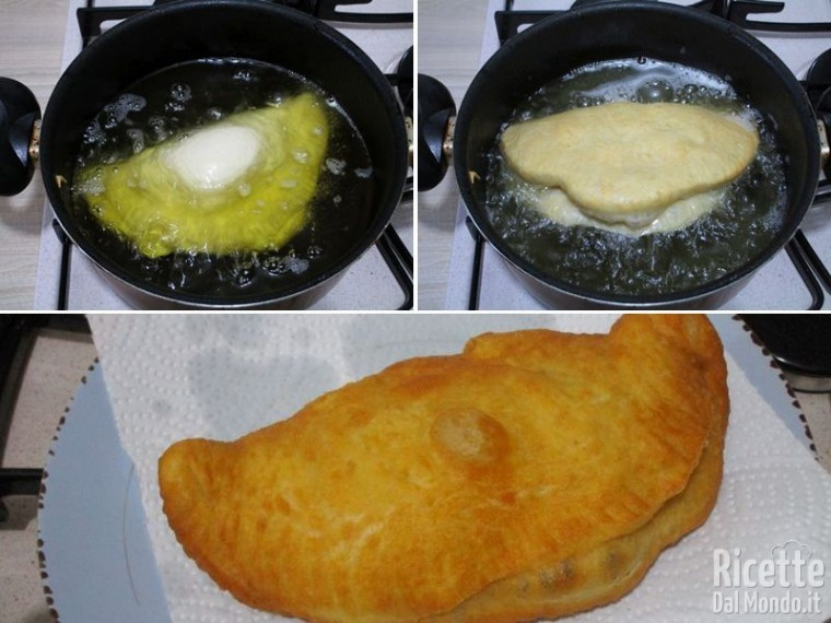 Calzone ripieno fritto 5