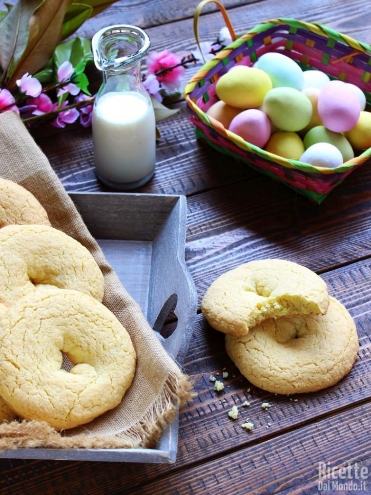 taralli dolci di Pasqua napoletani