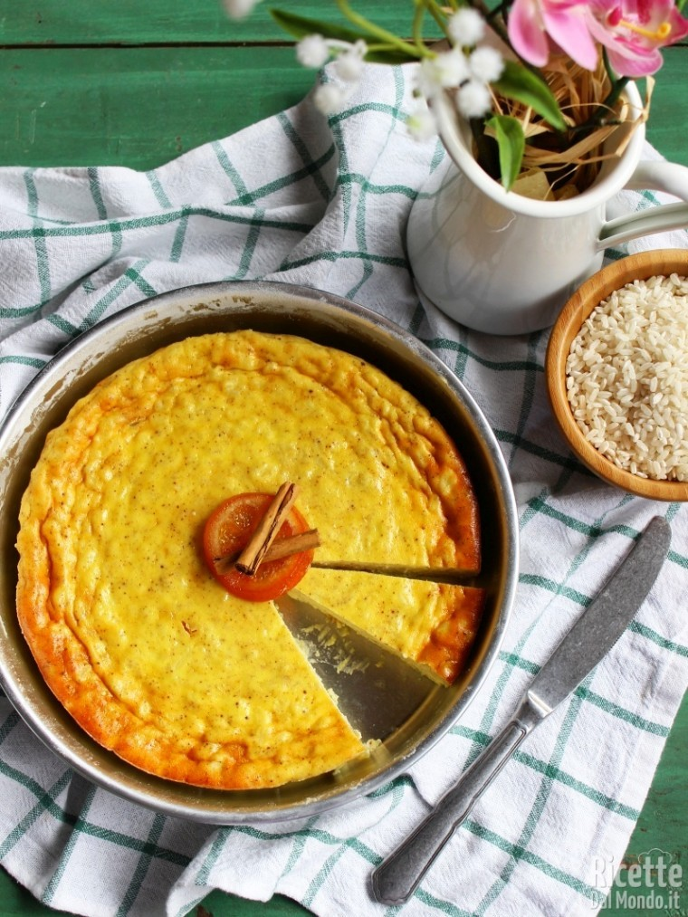 Come fare la torta di riso e ricotta