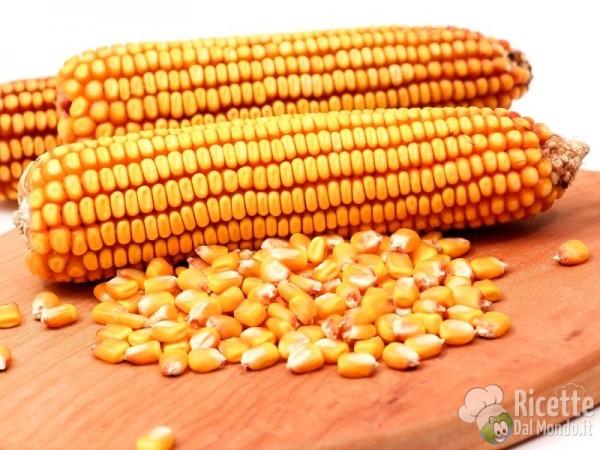I cereali senza glutine: mais