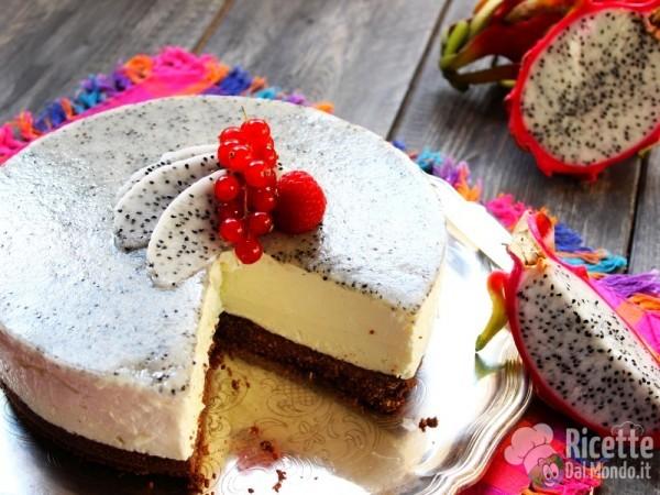 Come fare la cheesecake con la pitaya