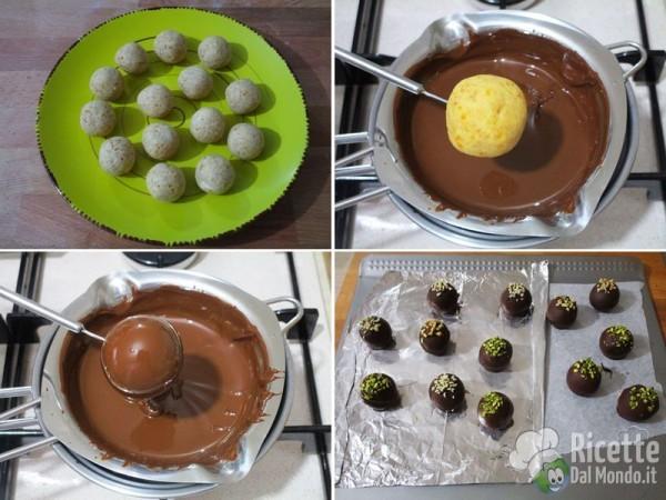 Tartufini al cioccolato 4