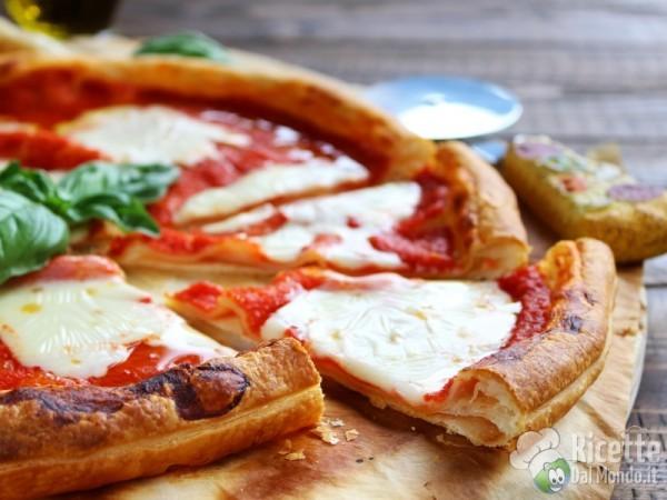 Ricetta finta pizza di pasta sfoglia