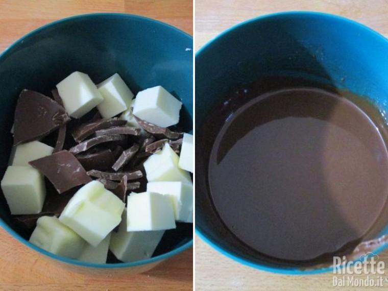 Dolce con il cioccolato al latte 2
