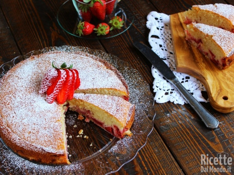 Ricetta torta di fragole soffice