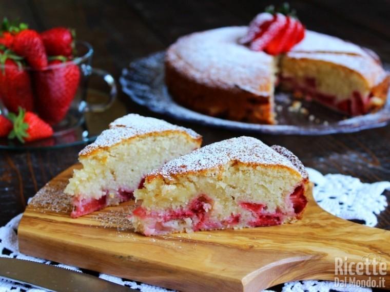 Dolcissima torta di fragole