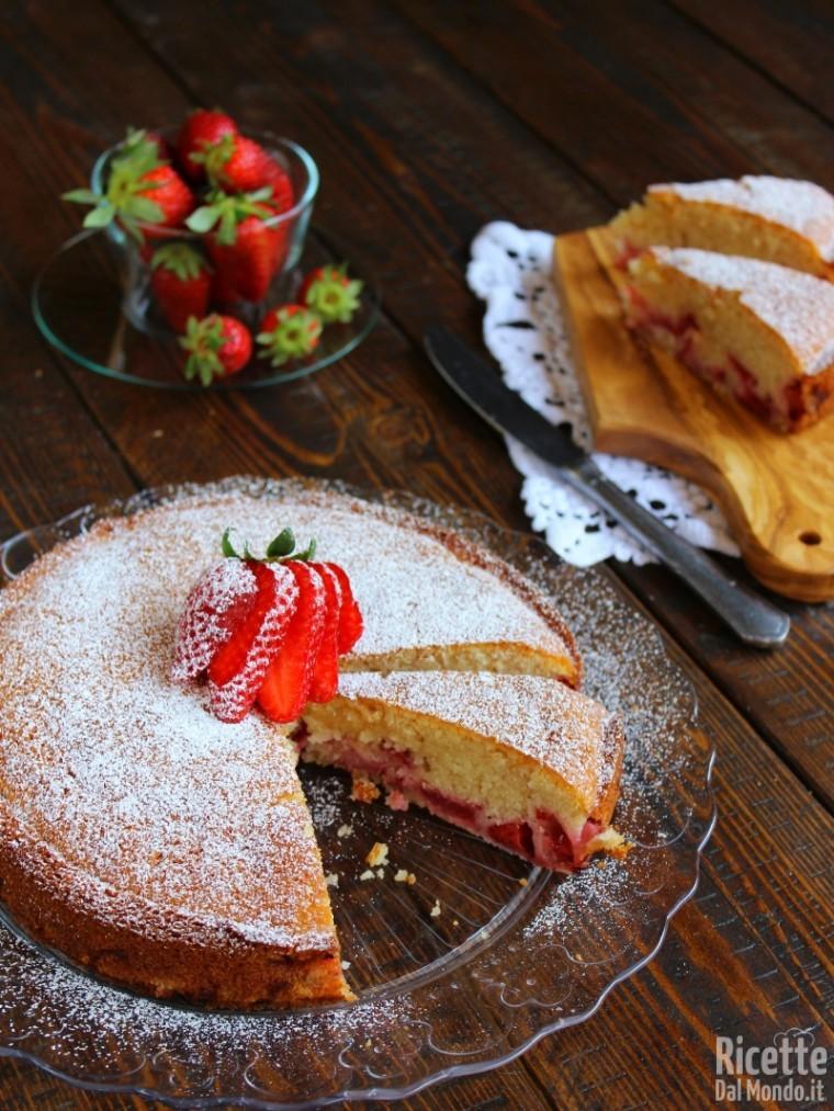 Come fare la torta di fragole