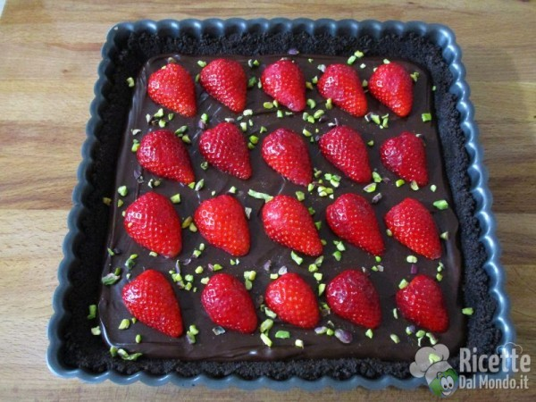 Torta al cioccolato senza cottura 6