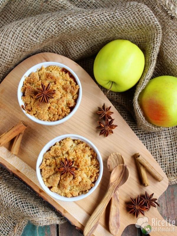 Crumble di mele ricetta semplice - Immagini stampabili di mele ...