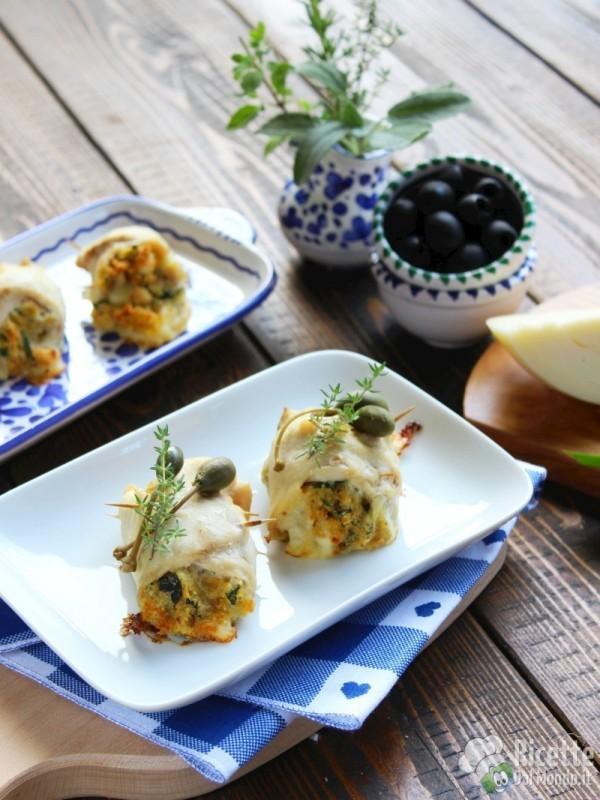 Involtini di pesce spada al forno for Secondi piatti di pesce