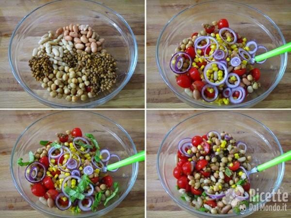 Insalata con i legumi 4