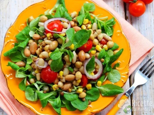 Ricetta insalata di legumi