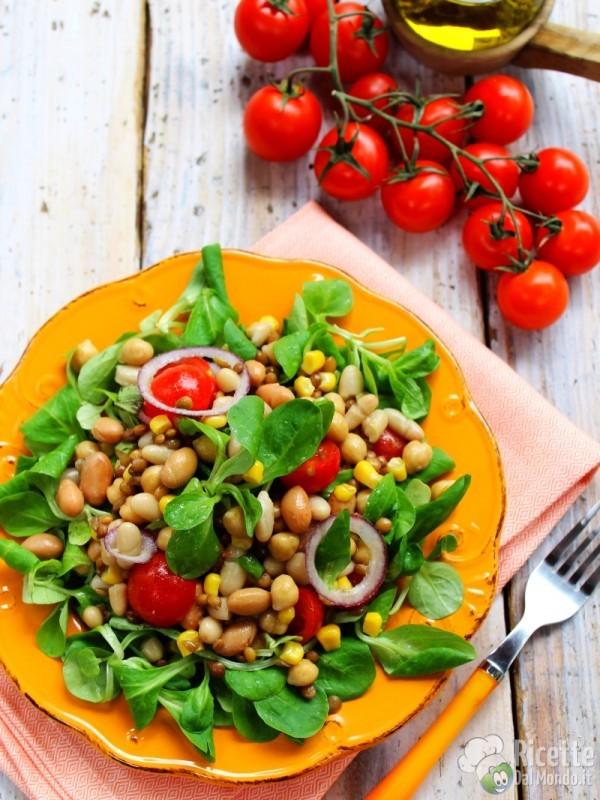 Come fare l'insalata di legumi