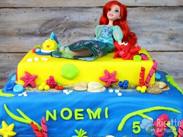 Ricetta torta della sirenetta Ariel