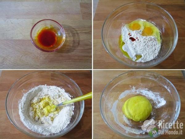 Pasta fresca colorata 3