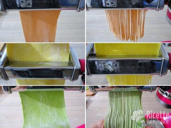 Pasta fresca colorata 5