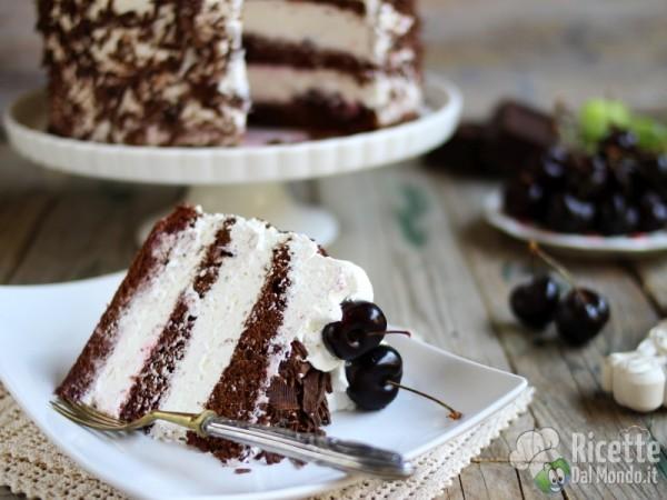 Torta foresta nera al cioccolato