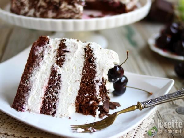 Torta foresta nera, ricetta originale