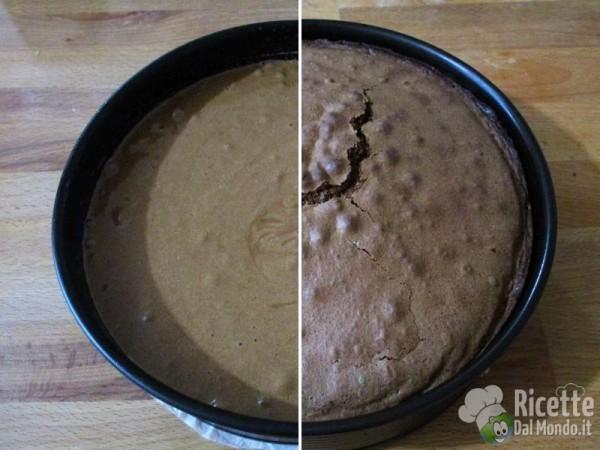 Torta al cioccolato e ciliegie 5