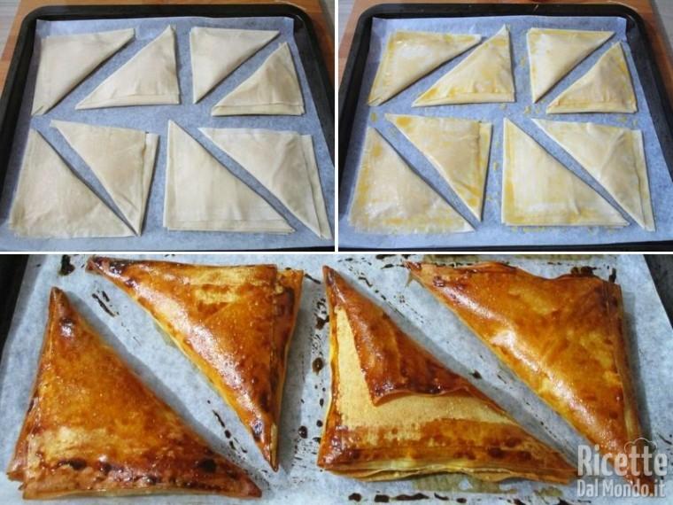 Sfogliatine greche al formaggio feta 6