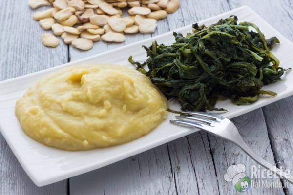 Puglia - fave e cicorie